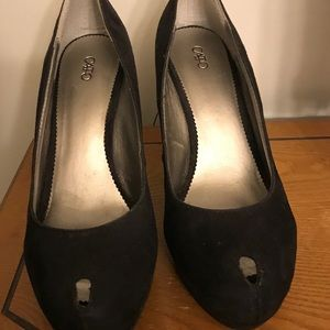 Cato Suede High Heels size 9